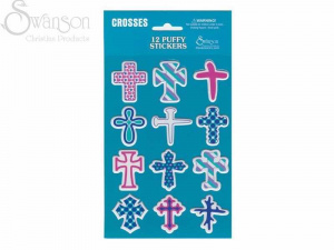 Puffy Stickers Cross