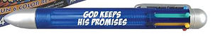 God Keeps His Promises 4 Colour Click Pen