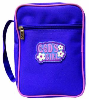 Bible Cover Gods Girl Med