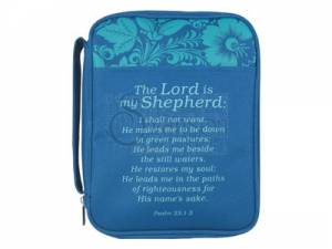 Bible Cover Lord My Shepherd Med
