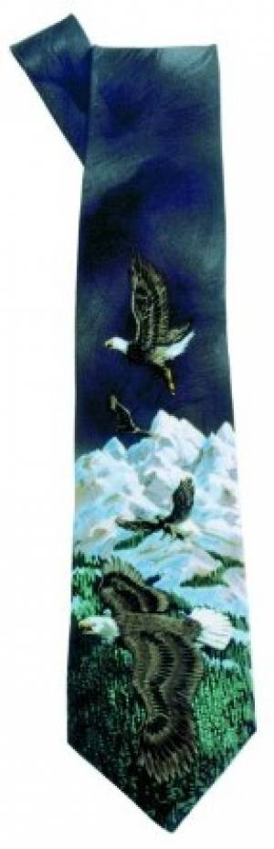 Tie: Eagles Black