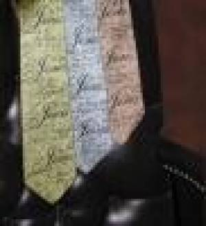 Tie: Silver Names Of Jesus