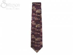 Tie: Amazing Grace Burgundy