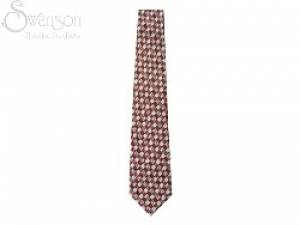 Tie: College Color Fish Rd/Wh