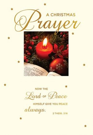 Christmas Prayer Christmas Cards Pack of 15