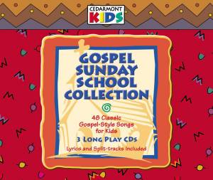 Gospel Sunday School Collection (3 CDs)