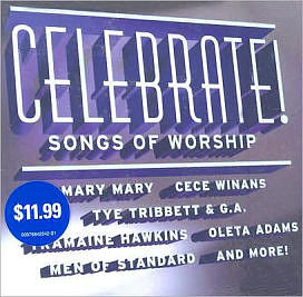 Celebrate - Songs Of Worship CD