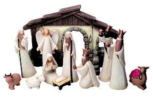 "7.5"" Figure Nativity Set"