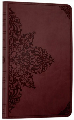 ESV Bible: Chestnut Imitation Leather, Anglicised
