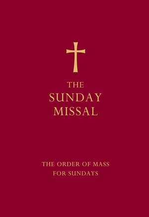Sunday Missal Red Edition: Imitation Leather
