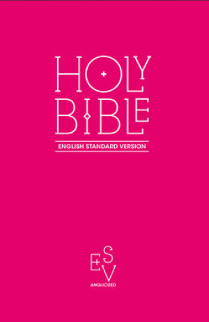 ESV Anglicized Pink Gift And Award Bible