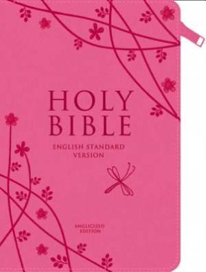 ESV Pink Compact Zip Bible