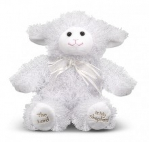PLUSH 23RD PSALM LAMB