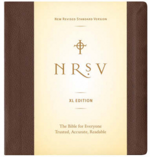 NRSV Extra Large Print Bible Imitation Leather Brown
