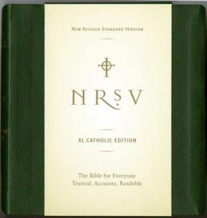 NRSV extra large print Catholic edition hardback green