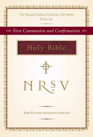 NRSV Catholic Gift Edition Burgundy