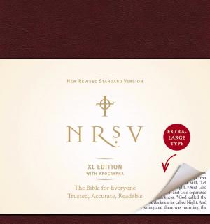 NRSV XL with Apocrypha (burgundy)