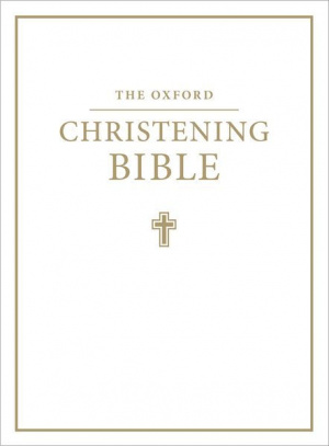 KJV Christening Bible: White, Imitation Leather