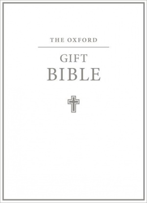 KJV Oxford Gift Bible: White, imitation leather