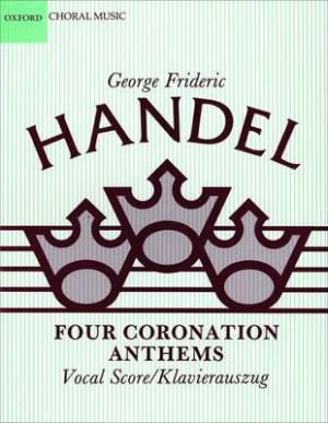 Four Coronation Anthems Vocal Score