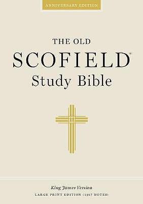KJV Old Scofield Study Bible: Hardback, Large Print