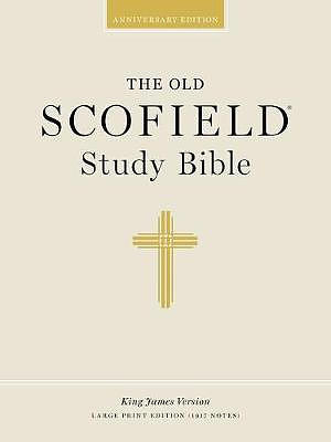 KJV Old Scofield® Study Bible: Black, Genuine Leather, Large Print