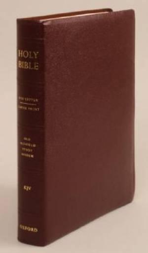 KJV Old Scofield Study Bible Large Print Edition