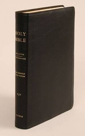 Old Scofield Study Bible Standard Edition Bonded Leather Black