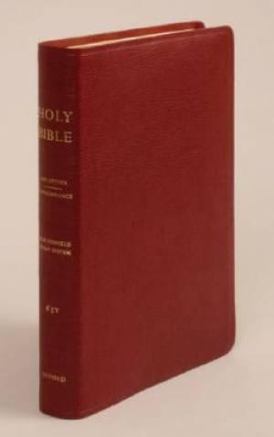 KJV Old Scofield Study Bible Standard Edition Leather Burgundy