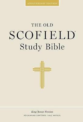KJV Old Scofield Study Bible : Hardback