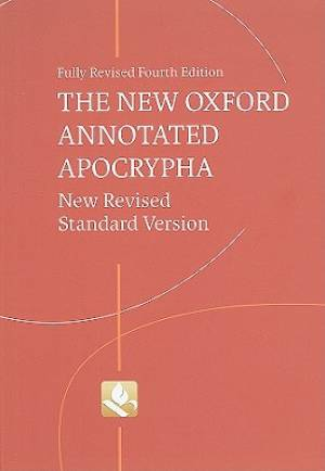 NRSV Oxford Annotated Apocrypha Red Harback