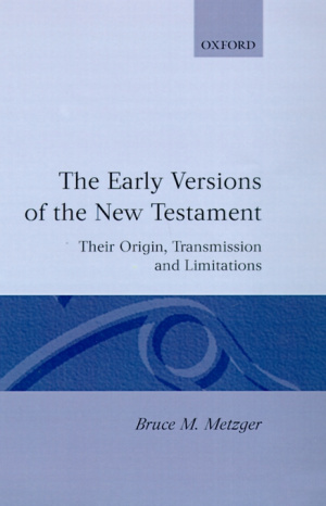 Early Versions Of The New Testament