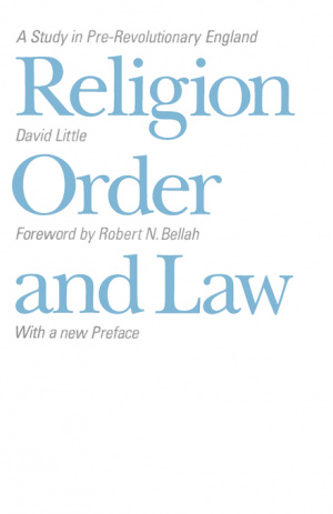 Religion, Order and Law