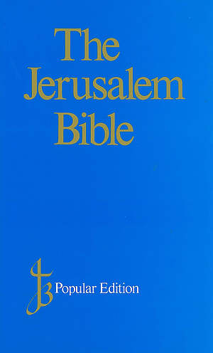 Jerusalem Bible: Blue, Hardback