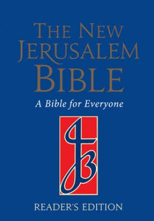 New Jerusalem Bible Readers Edition Blue Paperback