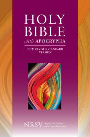 NRSV Bible with Apocrypha: Hardback (British Text)