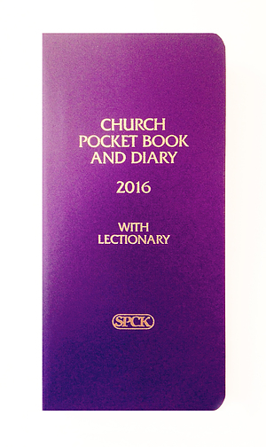 Purple Church Pocket Book and Diary 2016