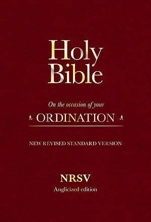 NRSV Ordination Bible