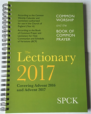 Common Worship Lectionary 2017 Spiral Bound