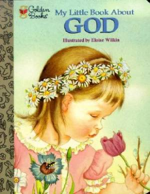 My Little Book About God Board Book