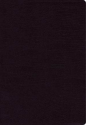 NKJV, Cultural Backgrounds Study Bible, Bonded Leather, Black, Red Letter Edition