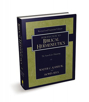 Introduction to Biblical Hermeneutics