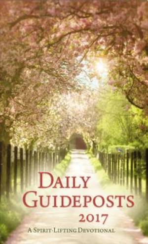 Daily Guideposts 2017 Large Print