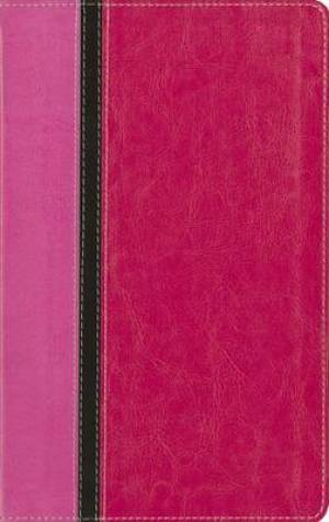 KJV Reference Bible: Orchid/Hot Pink Duo-Tone, Leathersoft