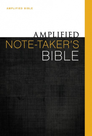 Amplified Note Takers Bible Hb