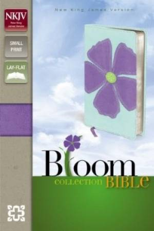 NKJV Bloom Collection Bible Compact