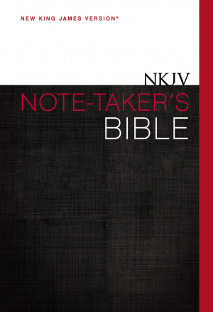 NKJV Note-Taker's Bible: Hardback