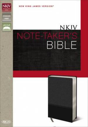 NKJV Note-Taker's Bible Black Imitation Leather