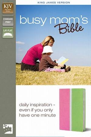 Busy Moms Bible Duotone Pink & Green