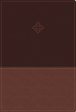 Amplified Study Bible, Imitation Leather, Brown